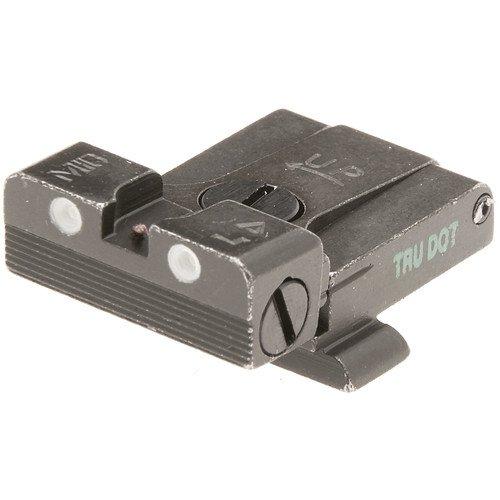 Meprolight Glock Tru-Dot Adjustable Night Sight - 9mm.357 Sig.45 S&W & .45 Gap - Rear Sight Only