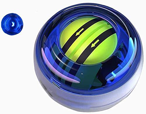 Trainer muñeca Ejercicios bola de la energía, bola giroscópica energía de la muñeca con luces LED, muñeca y antebrazo del fortalecedor de la energía de la muñeca más fuerte Flexibilidad, del brazo del