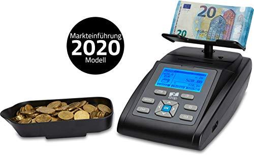 ZZap MS40 - Geldwaage für Münzen und Banknoten - Geldzählmaschine Geldzähler Zählwaage Münzwaage