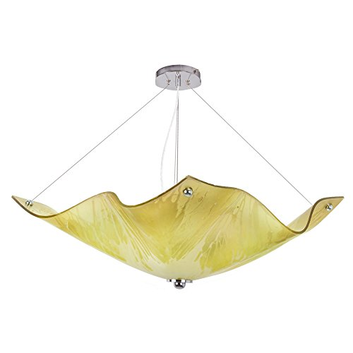 Van Teal Linden Chandelier, Lime Green/Yellow
