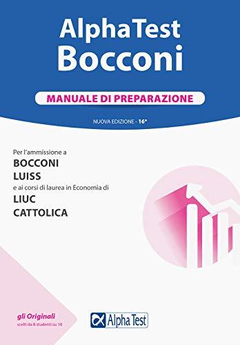 Alpha Test. Bocconi. Manuale di preparazione