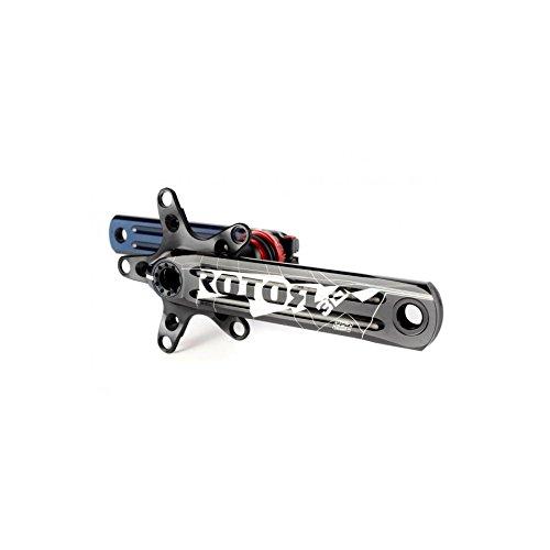 ROTOR KRG 3D + XC3170–104/64Black MTB Cilindro de manivela, Negro, 104