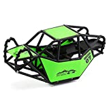 INJORA RC Roll Cage Rock Buggy Body Shell for 1/10 RC Crawler Car Axial SCX10 & SCX10 II 90046 (Green)