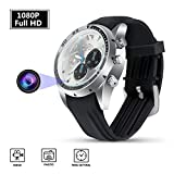 Hidden Camera HD 1080p Spy Camera Wristband Camera Portable Surveillance Camcorder Built-in 32GB Card Mini Spy Security Nanny Camera