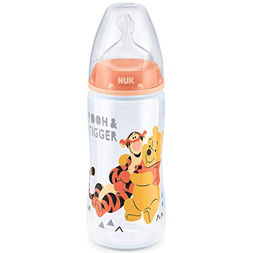 NUK Disney Pixar Toy Story First Choice+ Babyflasche, 6-18 Monate, 300 ml, Buzz