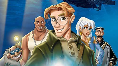 1000 Piezas Puzzle - Atlantis El Imperio Perdido - Rompecabezas Para Niños Adultos Juego Creativo Rompecabezas Navidad Decoración Del Hogar Regalo