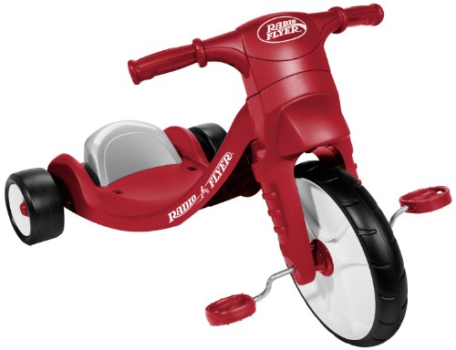 Radio Flyer Junior Flyer Trike Outdoor Toy for Kids Ages 25 Multi/None ONE SIZE