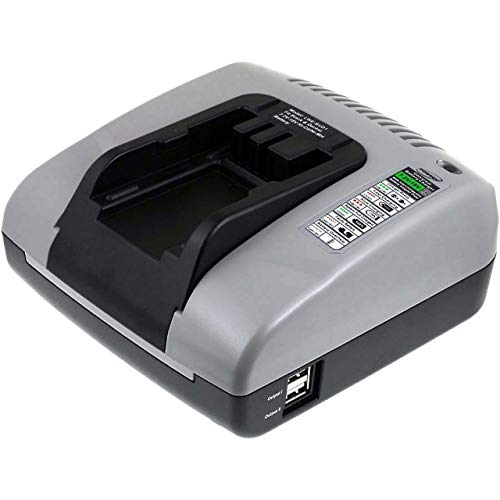 akku-net Akku-Ladegerät mit USB für Black & Decker Multi-Tool Quattro KC2002FK, 7,2V-18V