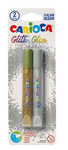 Carioca Glitter glue, multicolor, unico
