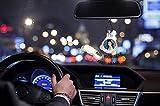 Personalized graphics custom rear view mirror car perfume pendant decorative freshener diffuser release aromatic air freshener