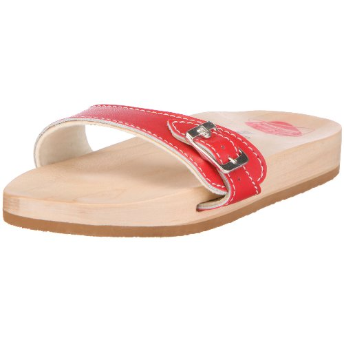 Berkemann Original-Sandale, Unisex-Erwachsene Pantoletten, Rot/rot, 42 EU (8 UK)