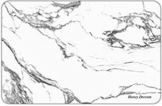 JK furniture Absorbent Non-Slip Bath Mat, Deodorant Fast-Drying Natural Diatomaceous Earth Mat (Marble Pattern)