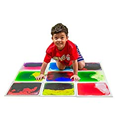 "top 10 step floor tiles Art3d Liquid Fusion Play Centers for Kids, Toddlers, Teens, 12 ""X 12"", 9-Tile Set"