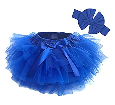 Dancina Baby Bloomer Romper Tutu Skirt Age 6-24 Months RoyalBlue