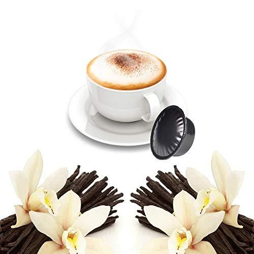 50 Capsule Vaniglia Compatibili Lavazza A Modo Mio - Caffè in Cialde Solubile