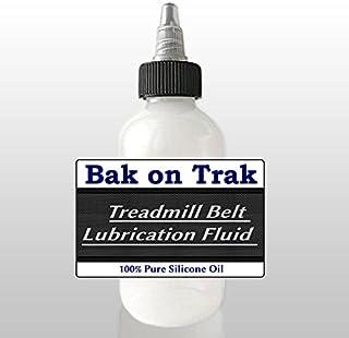 Bak on Trak 100% Silicone Oil Treadmill Belt Lubricant Lube Easy Squeeze 4oz Bottle
