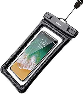 BASEUS 10M Max IPX8 Waterproof Case Mobile Phone Air Cushion Bag For IPhone X 8 Plus Galaxy s9 Below 6.0 inch Cell Phone