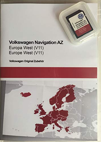 SD-Karte Update VW Navigation AZ Europa West V11 RNS 315