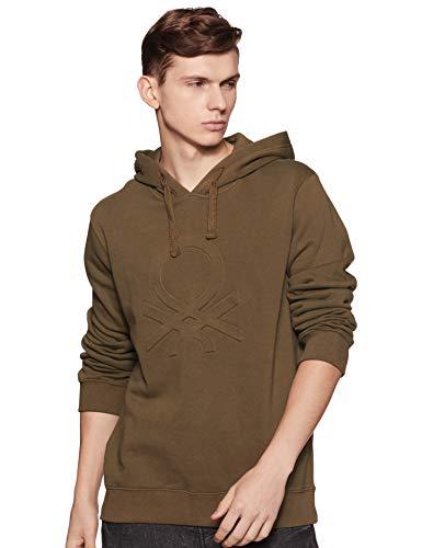 United Colors of Benetton Men's Sweatshirt (18A3089J3202I_16D_L_Olive(Green))