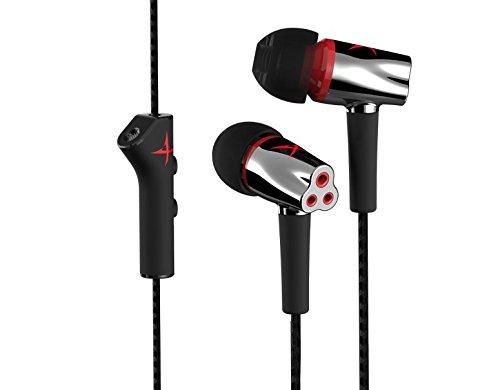 Creative Sound BlasterX P5 In-Ear Gaming Headset (Geräuschunterdrückung, Titanbeschichtete Treiber) schwarz