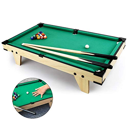 Tafels Biljart Mini Houten Pool Table Model Family Fun Games Voor Kinderen Leuk Entertainment Gift