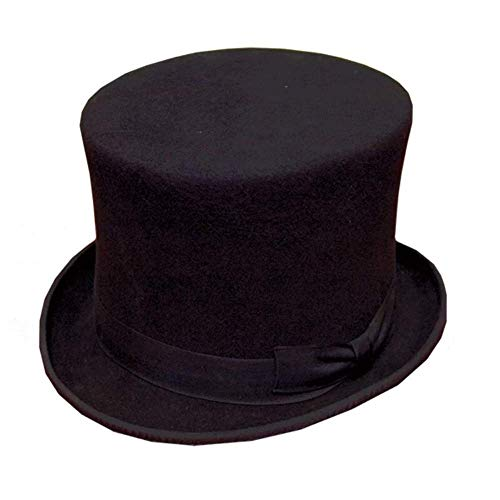 HAWKINS Chapeau en feutre de laine 100% laine. - Noir - noir,