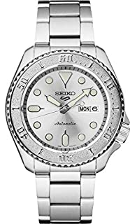 Seiko Men's 5 Sports Automatic Watch with Stainless Steel Strap, Silver, 22 (Model: SRPE71) (B087CF52D3) | Amazon price tracker / tracking, Amazon price history charts, Amazon price watches, Amazon price drop alerts
