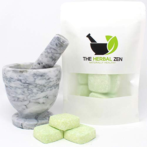 Morning Citrus Mint Shower Steamers by The Herbal Zen Aromatherapy Shower Steamer