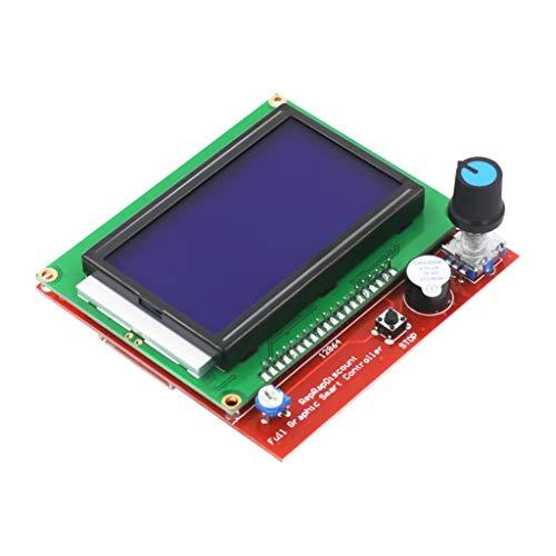 AKDSteel Kit de impresora 3D CNC con placa Mega 2560 RAMPS 1.4 Controlador LCD 12864 A4988 Controlador paso paso a paso para Arduino Electrónica práctica