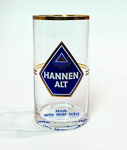 Hannen Alt 0,2l Glas/Gläser/Bierglas/Bier/Biergläser/Gastro/Bar/Party/Sammlerglas
