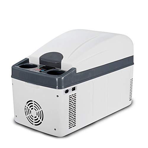 Elektrische koelbox, draagbaar, 16 l, voor auto en thuisgebruik, verwarming, koeling, mini-koelkast
