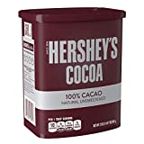 HERSHEY'S Natural Unsweetened 100% Hot Cocoa,...