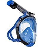 Best Snorkel Masks - Unigear Full Face Snorkel Mask, Snorkeling Mask Panoramic Review