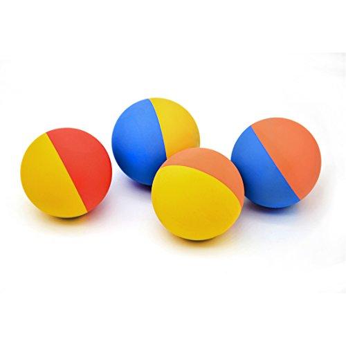 Calapet Hund Ball für Große Hunde, Aggressive Kauen Spielzeug für Hunde, Hundespielzeug Tennis Ball