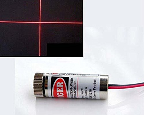 650nm 5mW Red Laser Line Module Focus Adjustable.