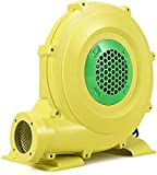 SY-Home Bomba De Aire Eléctrica, Soplador Eléctrico Amarillo De 680 W Carcasa De Plástico para Arcos Inflables De Castillo Inflable