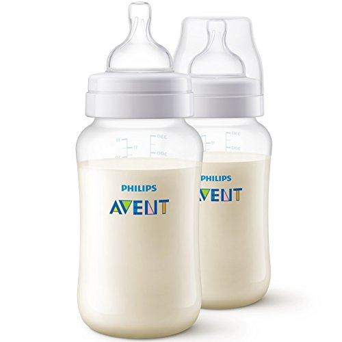 Philips Avent SCF816/27 Lot de 2 Biberons Anti-colic 330ml - 6 Mois+