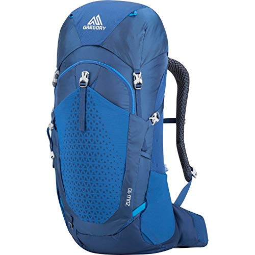 Gregory Mountain Products Zulu 40 Liter Men's Hiking Backpack, Empire Blue, Medium/Large