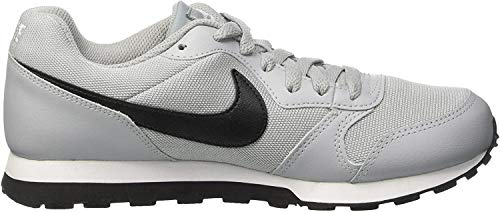 Nike Herren MD Runner 2 (GS) Laufschuhe, Grau (Wolf Grey/Black/White 003), 38.5 EU