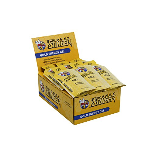 Gold Energy Gel 24/12 Ounce 34 g Packets