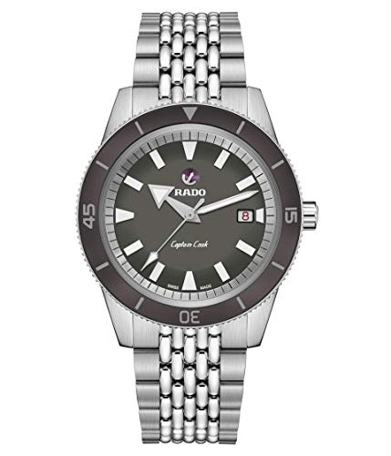 RADO Captain Cook 42mm Automatic Watch Set Gray One Size
