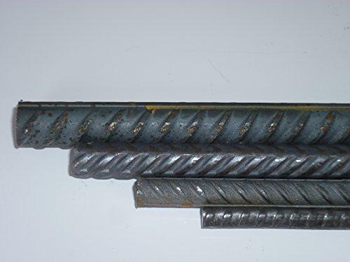 8 mm in 0,5 Meter Alle /Ø 8mm Durchmesser Betonstahl Bewehrungsstahl Torstahl Moniereisen Baustahl