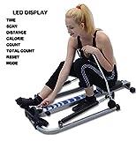 Rowing Machines Trac Glider Rudergerät Home Gym Workout Geräte mit LCD-Display 310 LB Gewicht Kapazität - 6
