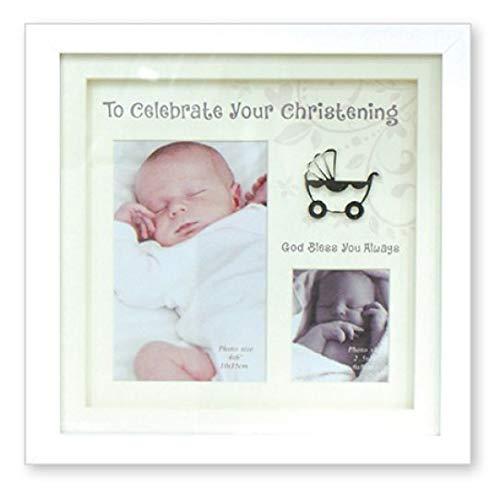 Just Divine Gifts Cadre Photo de baptême ~ Bébé