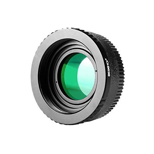 Beschoi M42-NIKON Objektivadapter mit Glas, Objektiv Adapterring für M42 Objektiv auf Nikon F Kamera