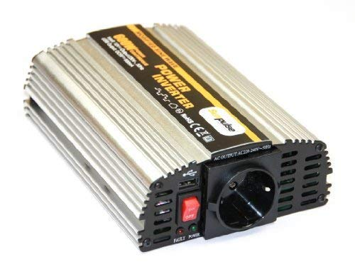 Spannungswandler MS 12V 600/1200 Watt Inverter Wechselrichter