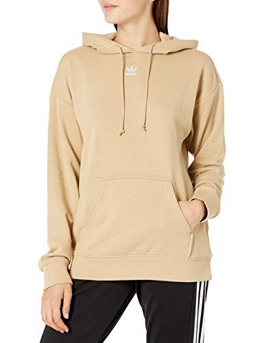 Adidas Originals - Felpa da donna con cappuccio - Beige - Large