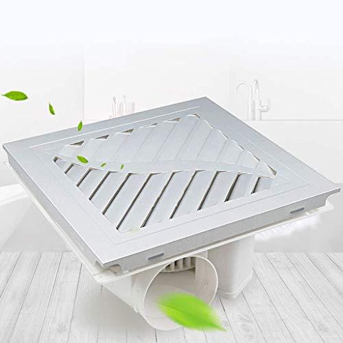 Exhaust Fan Vent Ventilatore Integrato di Scarico a soffitto Ventilatore di Scarico 300x300 Muto Cucina Bagno ad Alta Potenza Ultra-Sottile di Scarico 0108