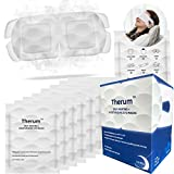 Therum Self-Heating+ Moisturizing Eye Masks 14 Pack - Soothing Warm Compresses that Relieve Dry Eyes, Tired Eyes, Puffy Eyes, Dark Circles