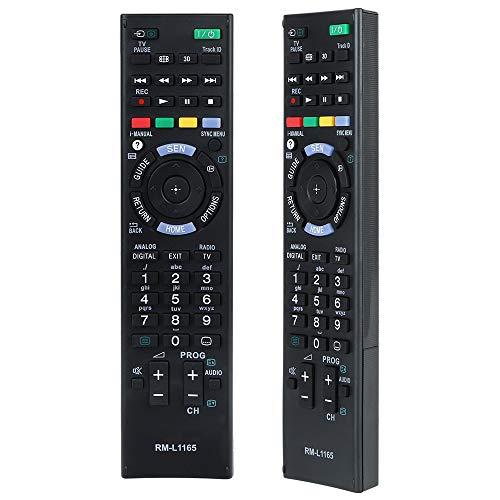 Alkia Universal Remote Control RM-ED053 for Almost All Sony TV Sub RM-ED052 RM-ED060 - KDL-40W905A KDL-46W905A KDL-55W905A KDL-65W855A
